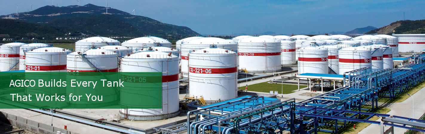 Large Steel Storage Tanks