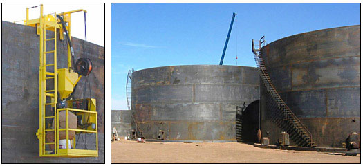 design of vertical oil storage tank