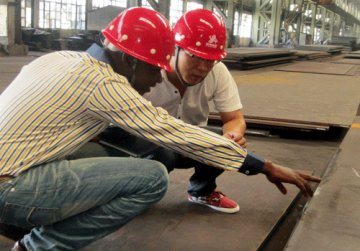Inspection for Tank Project from Our Nigeria's Customer