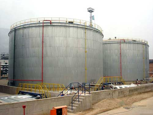 external floating roof tanks