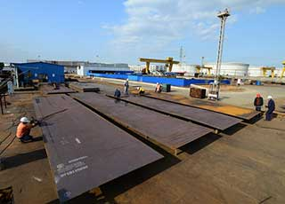 high quality steel plate for storage tank